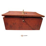 Handmade Victorian Era Wood Box
