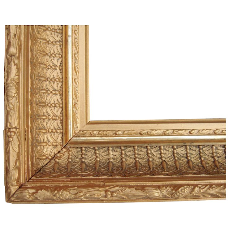 Ornate Gold Victorian Picture Frame 12 X 17 Blue Spruce Rugs And