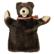 1950s German Steiff Teddy Bear Hand Puppet