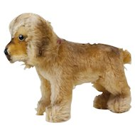 "1950s German Steiff Large Size Standing ""Cockie"" Cocker Spaniel 15"""