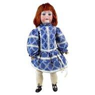 "1910s Antique German Heubach-Koppelsdorf 312 Bisque Doll 23"""