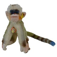 1950's Mungo Steiff Monkey with Chest Tag & Ear Button 1325.07