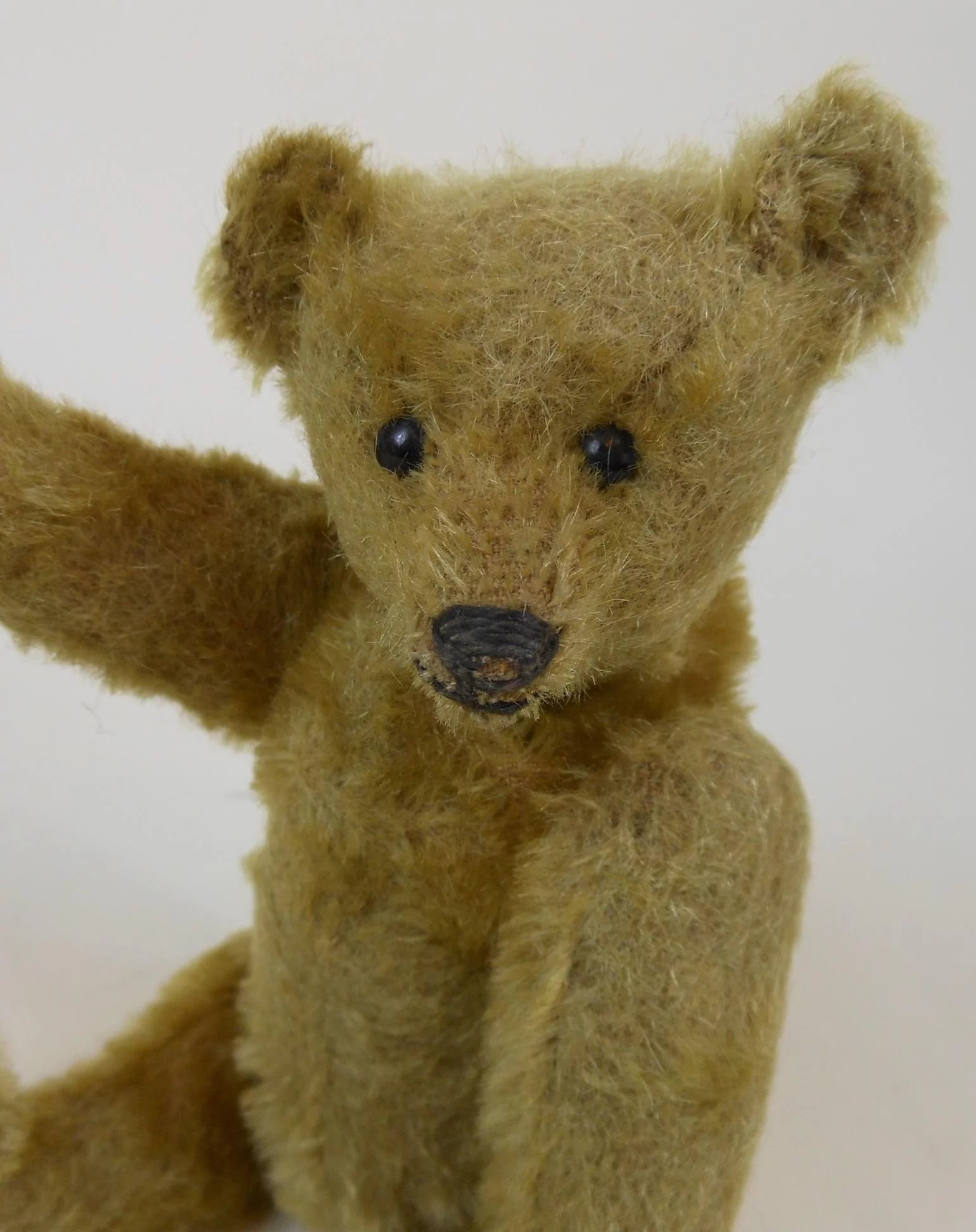"""10 Kitchen And Home Decor Items Every 20 Something Needs: Rare 1909 Fully Jointed Small 8"""" Steiff Mohair Teddy Bear"""