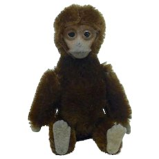 Tiny Schuco Monkey Compact with Original Pad and Powder