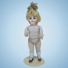 """Turn of the Century All Bisque Kestner 620 Doll 7"""""""