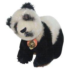 1950s Mint Steiff Panda Bear on all Fours w/ ID