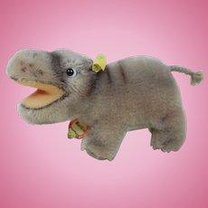 Mint Full ID Steiff Mockie Baby Hippopotomus