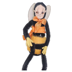 A Chad Valley Hygienic Toy bumble bee