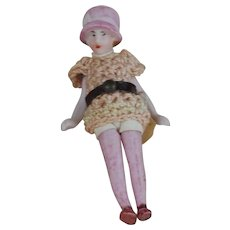 2nd of 2  German Flapper Carl Horn doll Paulette all bisque