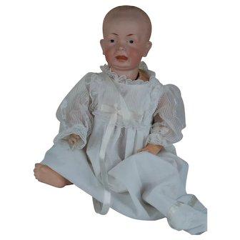 Rare Mold German  Character Kaiser Doll Baby L 174 H