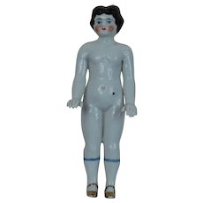 Lovely 7.5 inch Standing Frozen Charlotte China Doll