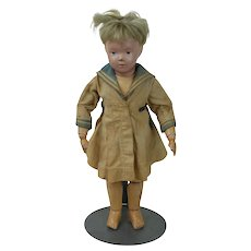 1910's Schoenhut Wooden Doll Pouty Face