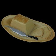 1920's USA Viscaloid Food Dish Bread