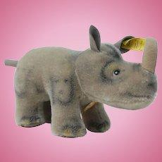 1950's Steiff Nosy The Rhino Plush