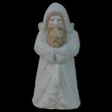 1890's German Bisque Snow Baby Santa
