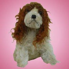 1920's-1930's Early Stuffed Dog Plush