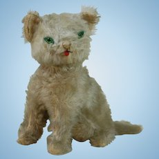 1920's-1930's Early Stuffed Cat Plush
