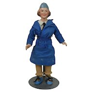 1920's-1930's Navy Wave Doll