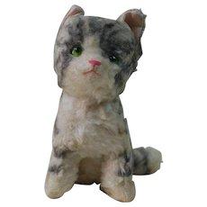1940's War Time Wool Plush Kitten