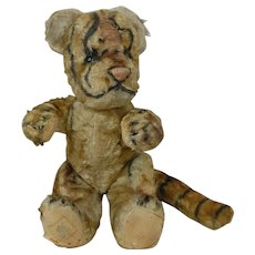 1930's-40's Chad Valley Tiger Plush