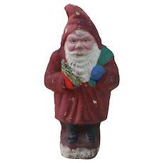 1920's Cardboard German Belsnickle Santa