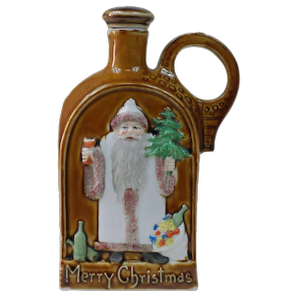 1910's Schaefer Vatter Christmas Nip Bottle