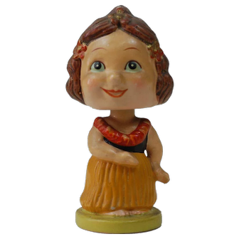 1940's Japanese Hawaiian Bobble Head
