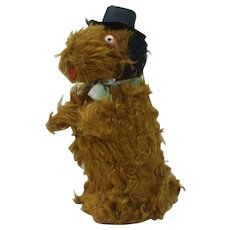 1940's Wind-up Dog with Top Hat