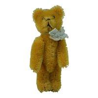 """1950's Schuco 4"""" Yellow Bear"""