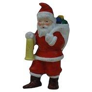 1910's-20's German Snow Baby Santa with Lantern