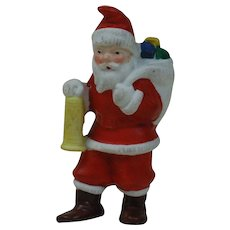 1910's-20's German Snow Baby Santa with Lantern
