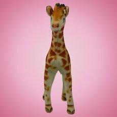 """1950's Steiff 19"""" Tall Giraffe"""