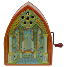 1940's J. Chein & Co. Tin Toy Organ
