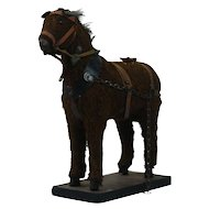 1890's Toy Brown Horse 1