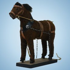 1890's Toy Brown Horse 2