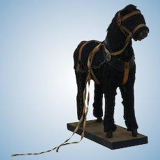 1890's Toy Black Horse