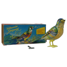 1950's Kohler Co. JuGilierender Songbird Mechanical Toy