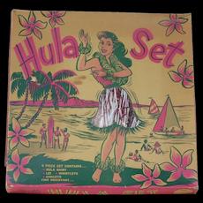 1950's Sparkle Brite Hula Set