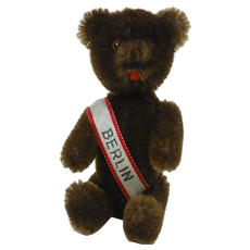 "1960's Schuco 5"" Berlin Yes Chocolate Bear"