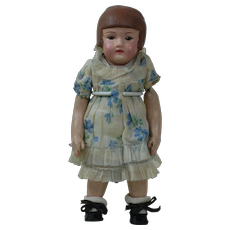 "1910's-1920's Martha Chase 12"" Doll w/ Bob-cut"