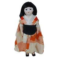 1920's Porcelain Head Japanese Doll
