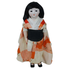 1920's Porcelain Head Japanese Doll