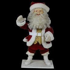 1940's Clockwork Nodding Santa