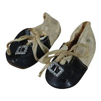 1920's Mary Jane #3 Doll Shoes