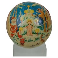 1950's Large German Candy Container Ornament