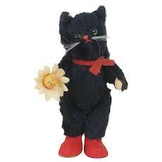 1950's Kersa Halloween Black Cat Plush
