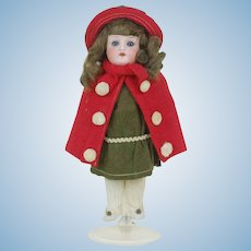 1910's Bisque Head Christmas Candy Container Doll