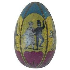 1890's-1900's German Tin Easter Egg