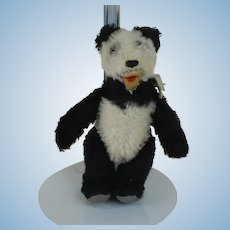 "1950's Steiff 5 1/2"" Tall Panda Plush"