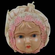 1920's Celluloid Doll Head Squeaker